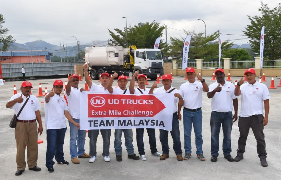 UD Trucks Extra Mile Challenge Crowns Its Malaysian Champion