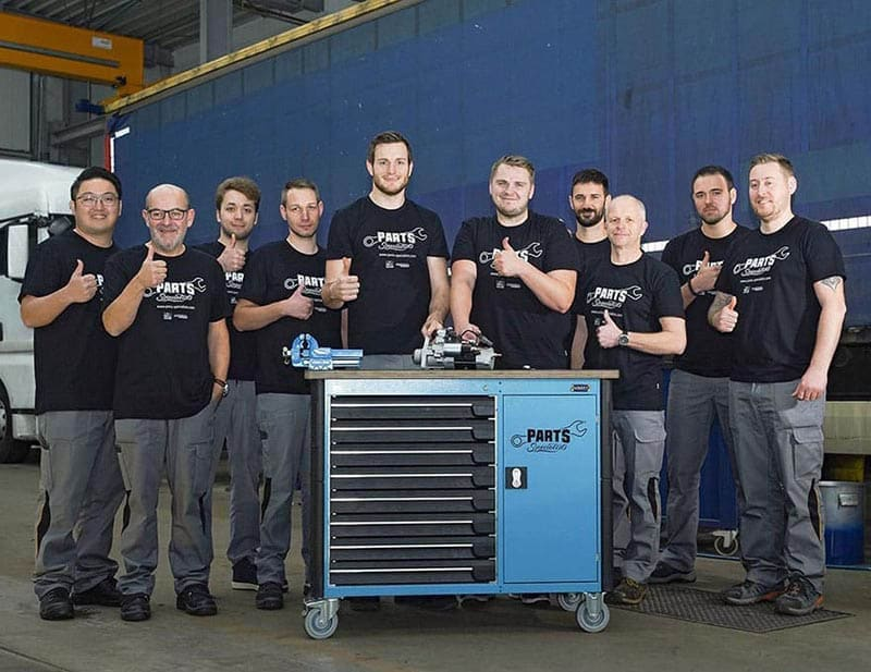 Parts Specialists team web
