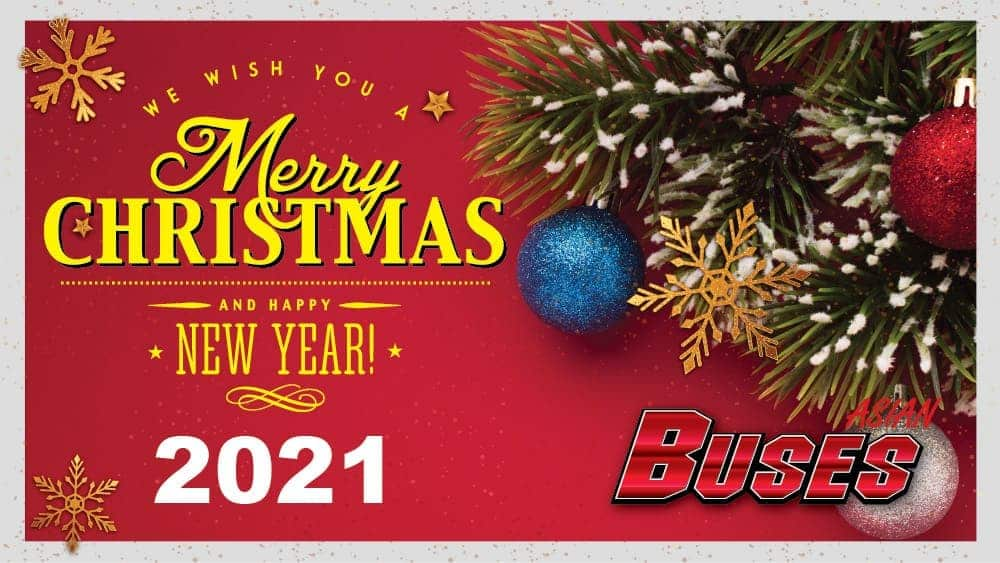 Merry Christmas From Asian Buses
