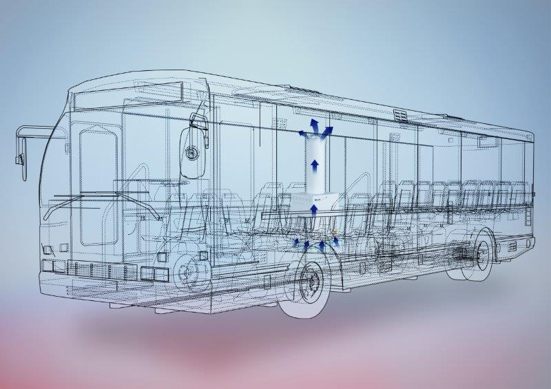 Airflow simulation using Blue.care. Image provided by Hengst Asia  Pacific Pte Ltd