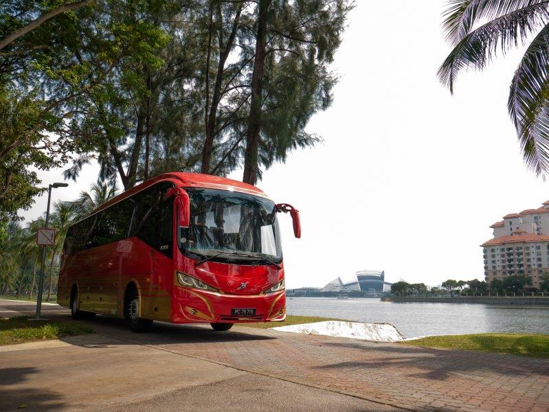 Volvo Buses offer comfort, safety and relaxing rides
