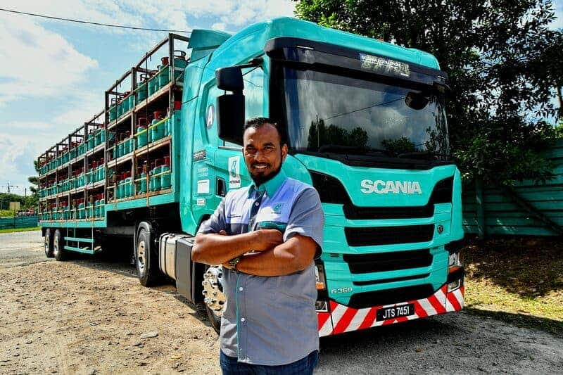 Scania Ecolution and Partners Successfully Reduce CO2 Emissions Equivalent to Planting 10 000 Trees