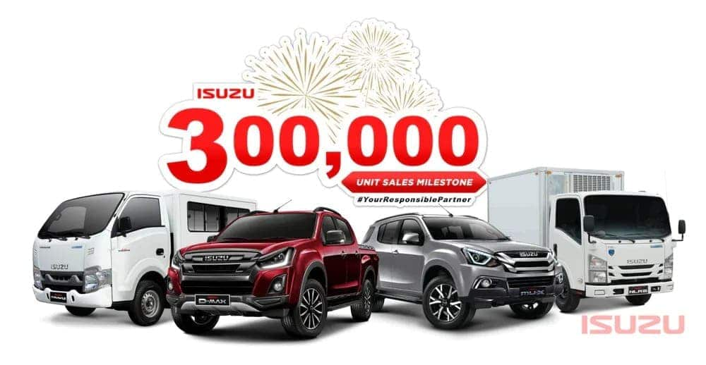 Isuzu PH achieves 300,000-unit sales milestone