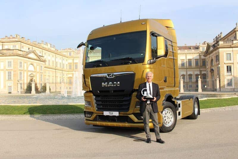 """""""Simply Number One"""": MAN TGX, Truck of the Year 2021"""