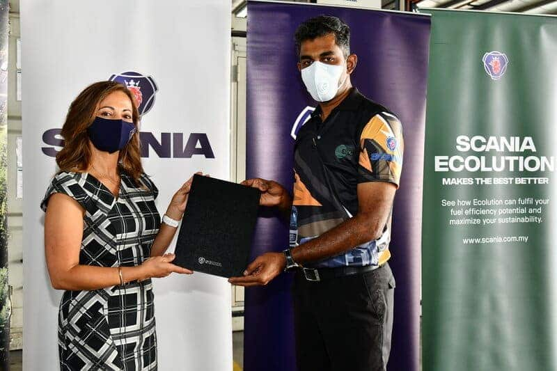 SR Gemilang – The First Truck Operator in the Northern Region to Sign up for Scania's Ecolution