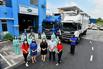 Scania Strengthens Bengteng's position with the First Scania Temperature Control Boxed-type New Truck Generation in Peninsular Malaysia