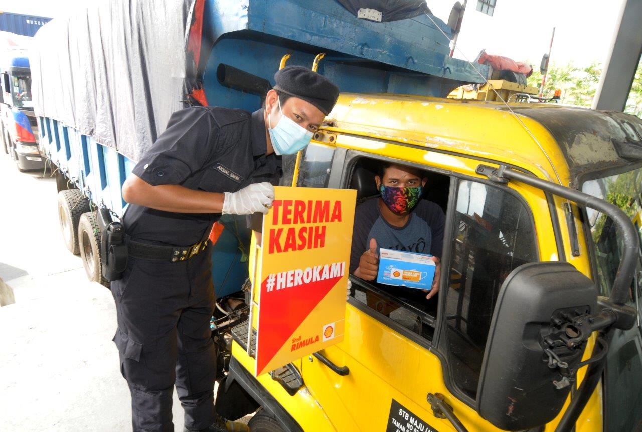 Shell Rimula Salutes Hardworking Truckers in #HeroKami Campaign