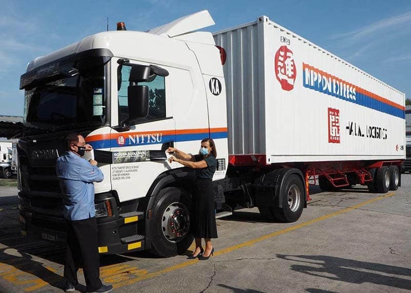 NITTSU Transport Becomes Scania Malaysia's First International Ecolution Partner