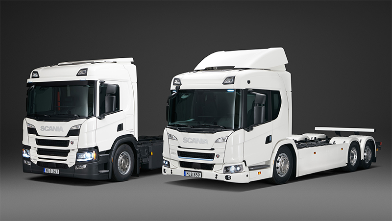 Scania Introduces First Commercial Electric Truck Range
