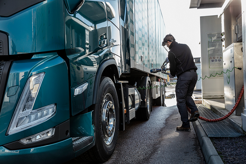 Volvo Trucks Sees Increased Interest in Gas as an Alternative to Diesel for Heavy-duty Truck Operations in Europe